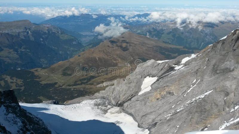 La Suisse - le Jungfraujoch photographie stock libre de droits