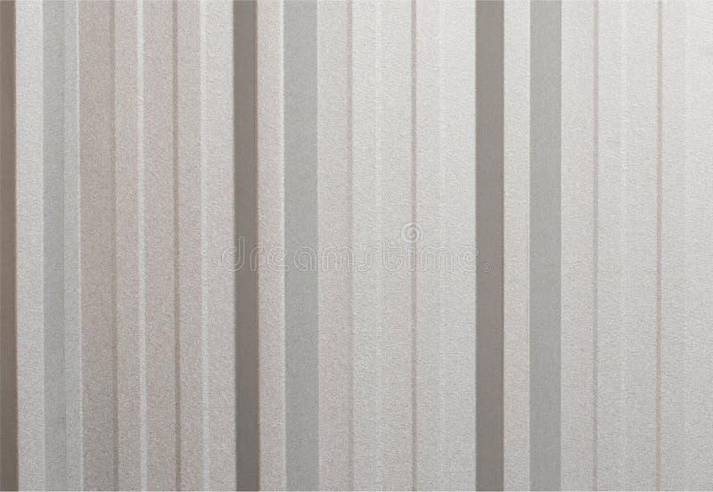 La superficie acanalada metálica gris de la textura, galvaniza el acero para el fondo foto de archivo libre de regalías