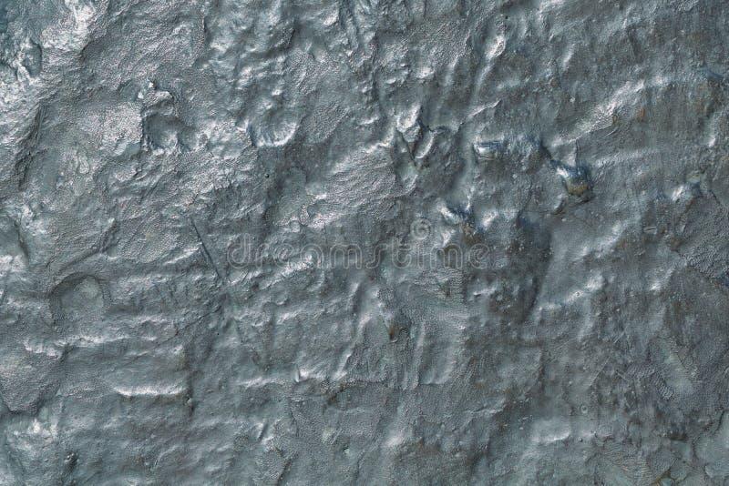 La superficie de una placa de bronce grande con la oxidación imagen de archivo libre de regalías