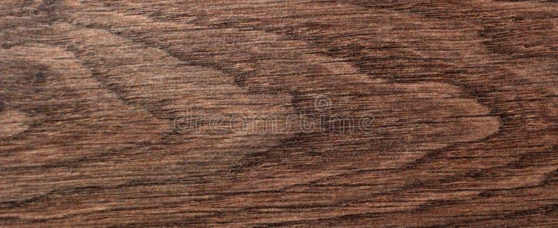 La superficie de la vieja textura de madera marrón, revestimiento de madera de madera del marrón de la visión superior fotografía de archivo libre de regalías