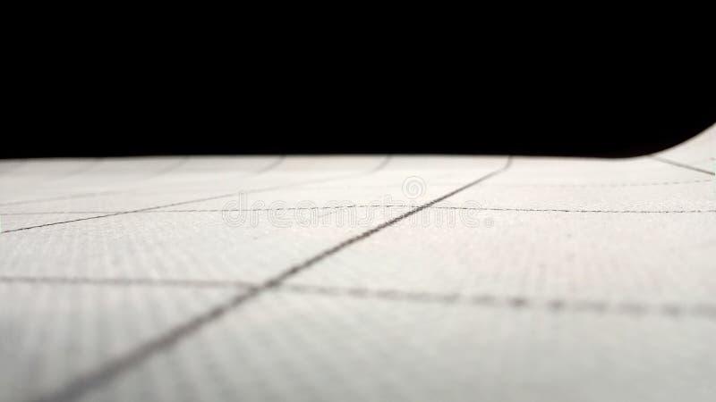 La superficie del materiale tectured in una grande cellula e nelle linee scure sottili Sopra l'orizzonte è nero spazio opy del ½  fotografie stock