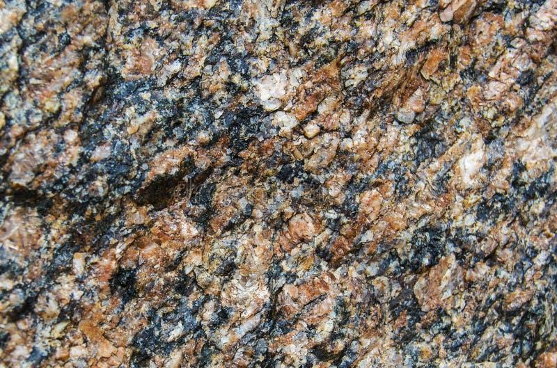 La superficie della pietra del granito fotografia stock libera da diritti