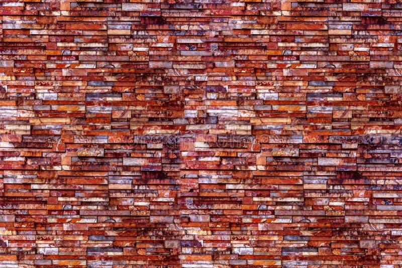 La surface de la brique du mur de fond photos stock