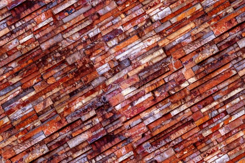 La surface de la brique du mur de fond images libres de droits