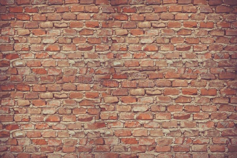 La surface de la brique du mur de fond photos libres de droits