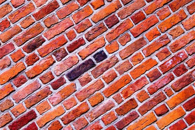 La surface de la brique du mur de fond images stock