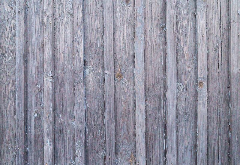 La surface du vieux bois superficiel par les agents a survécu au fond naturel abandonné par gris de panneau grunge de base image stock