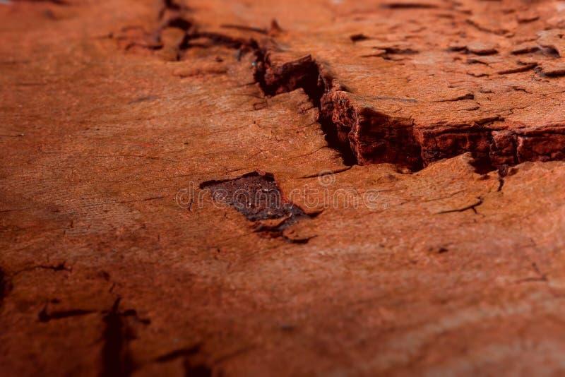 La surface rocheuse de la planète trouble avec les vallées évidentes photographie stock