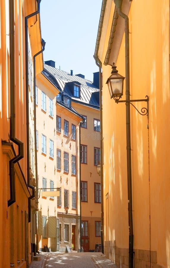 La Svezia. Stoccolma. Gamla Stan. fotografie stock