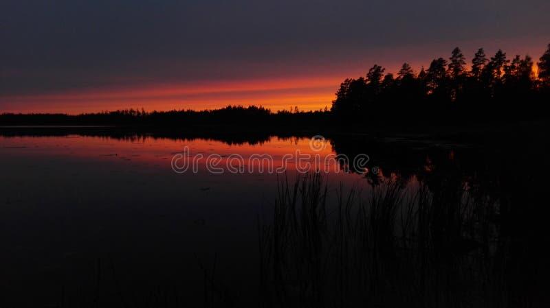 La Svezia vibrante fotografia stock libera da diritti