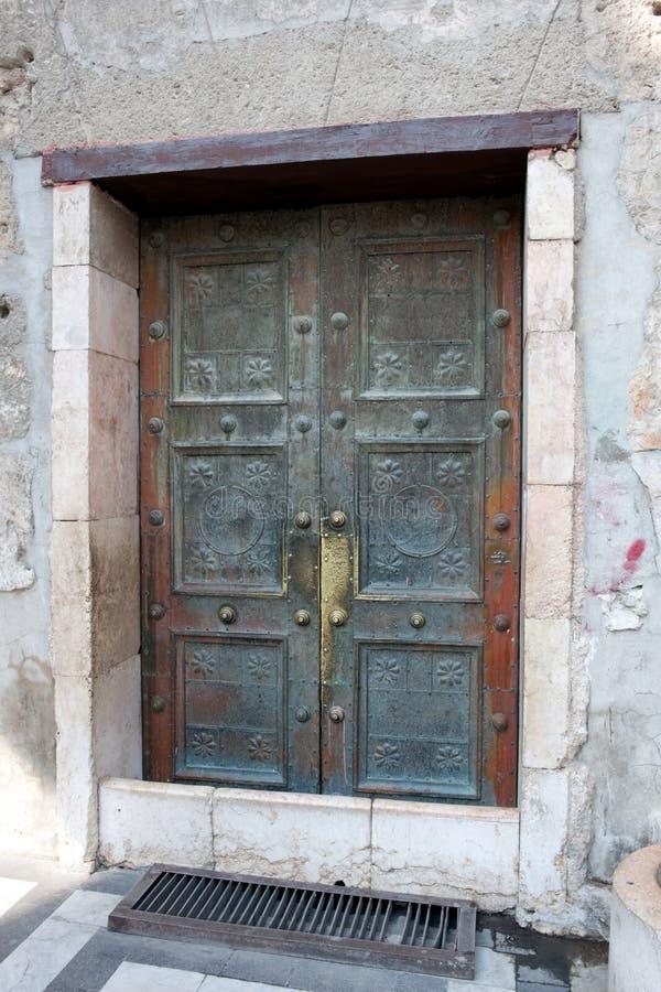 La Syrie - Damas, mosquée d'Umayyad image libre de droits