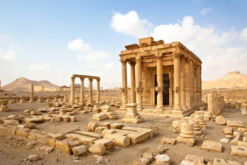 La Syrie - Palmyra (Tadmor) photo libre de droits