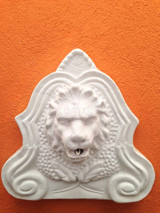La tête d'un lion image libre de droits