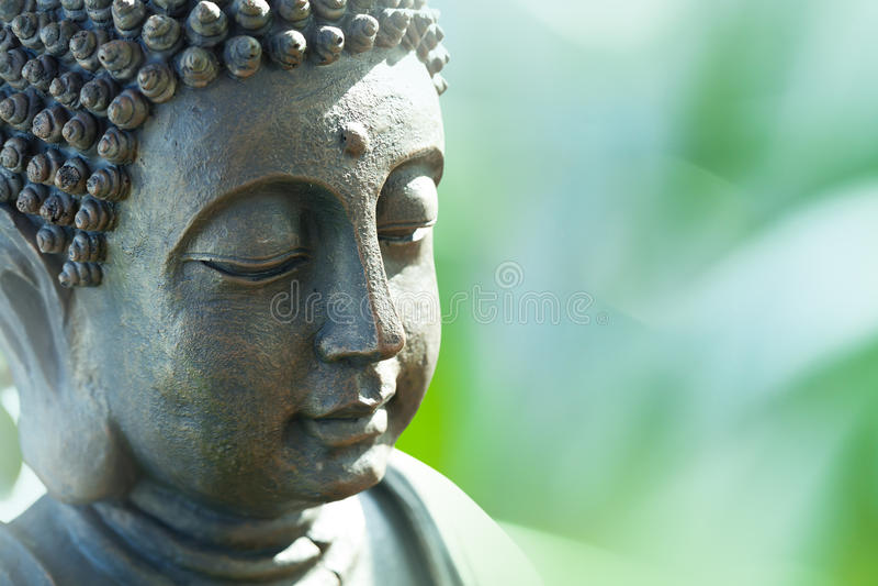 La tête de Bouddha photo stock