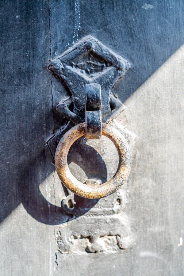 La tête de la porte sur la porte du composé de famille de qiao dans la province de Shanxi, photographie stock