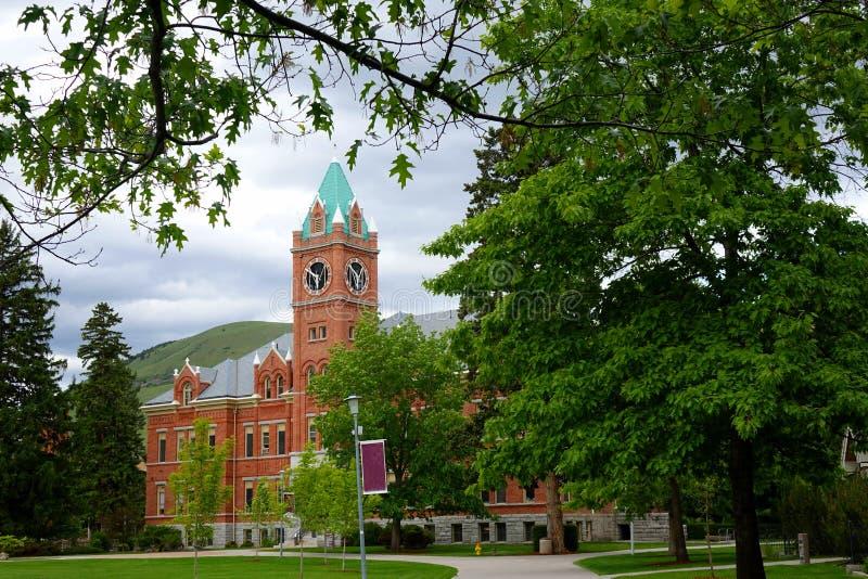 La TA d'université Hall - de Missoula image libre de droits