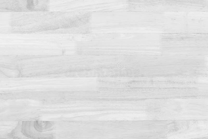 La tabla de madera blanca superficial del vintage y el grano rústico texturizan el backgr fotos de archivo libres de regalías