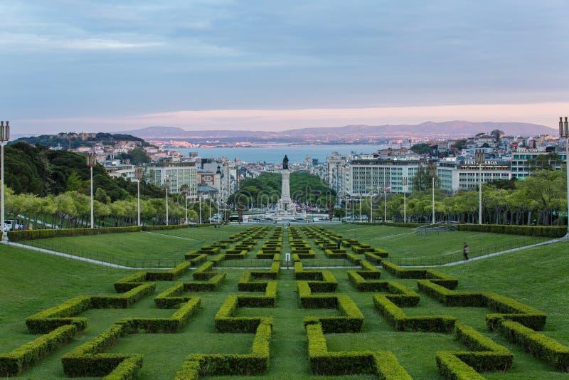 La tache du parc d'Eduardo VII photos libres de droits