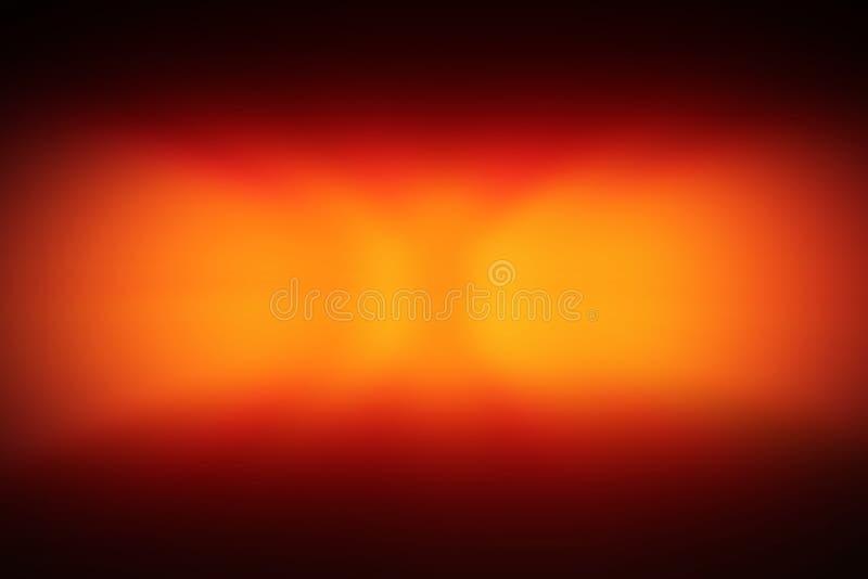 La tache floue de mouvement d'effet de lumière rouge, voiture de voyant d'alarme, le feu de freinage, risque allume le fond d'eff image libre de droits