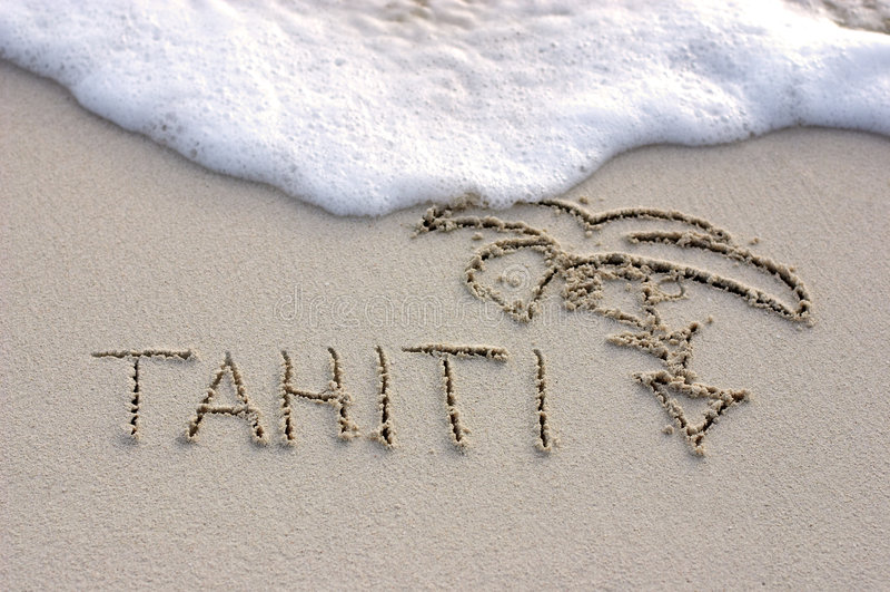 La Tahiti fotografie stock