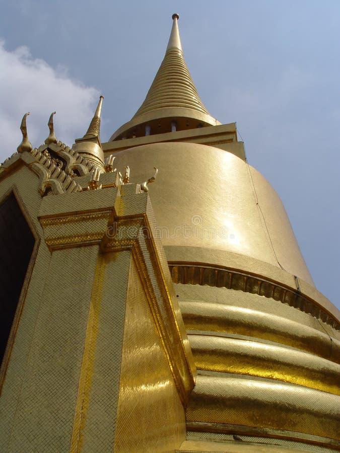 La Tailandia Bangkok - Bell dorata fotografie stock libere da diritti