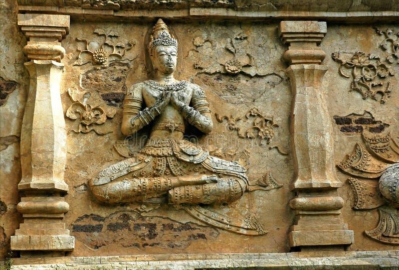 La Tailandia, Chiang Mai: Tempie fotografie stock libere da diritti