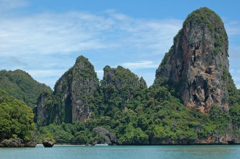 La Tailandia di stupore! Provincia di Krabi. fotografie stock