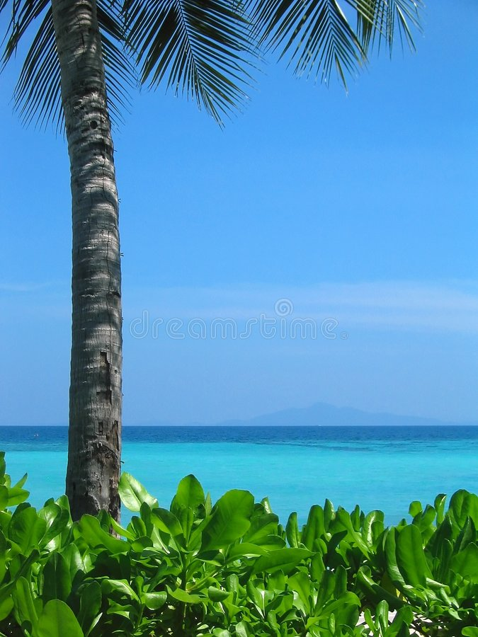 La Tailandia - spiaggia I di paradiso fotografie stock