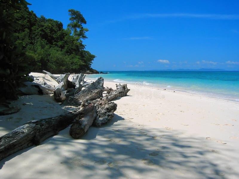 La Tailandia - spiaggia XI di paradiso fotografia stock