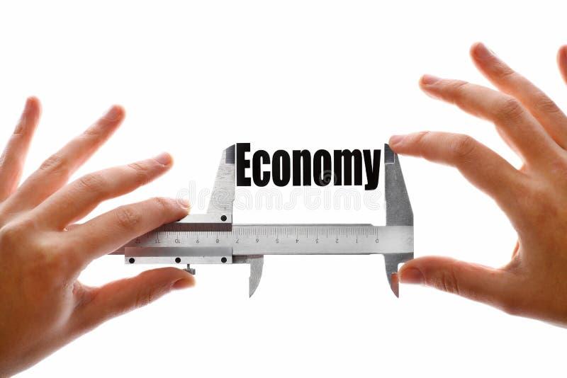La taille de notre économie images stock