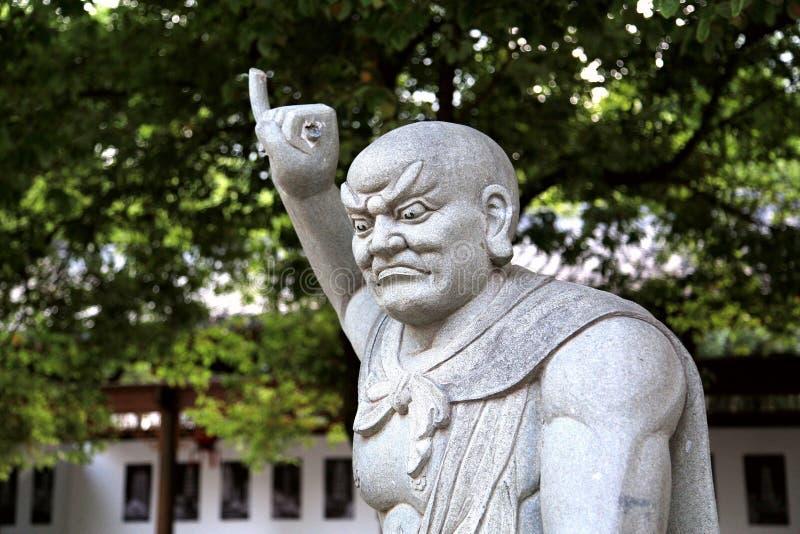 La talla de piedra de la torre de Shengin en Nanchang, Jiangxi, China fotos de archivo libres de regalías