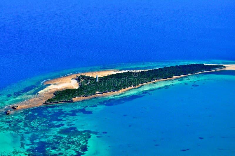 La Tanzania aerea fotografia stock libera da diritti