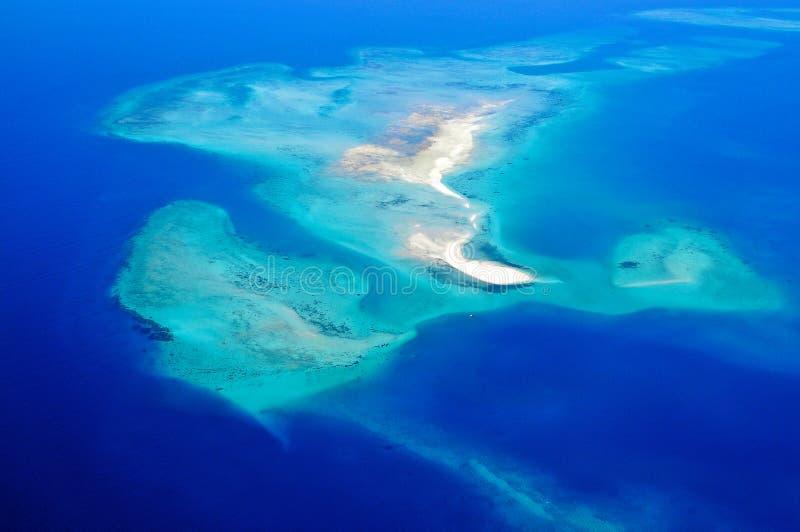 La Tanzania aerea immagine stock libera da diritti