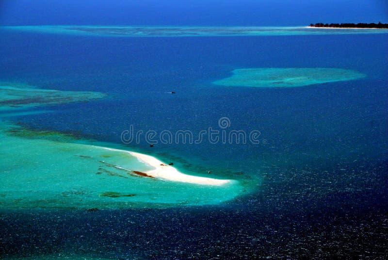 La Tanzanie aérienne photo stock