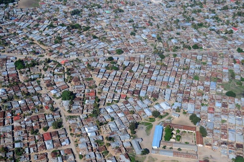 La Tanzanie aérienne photos libres de droits