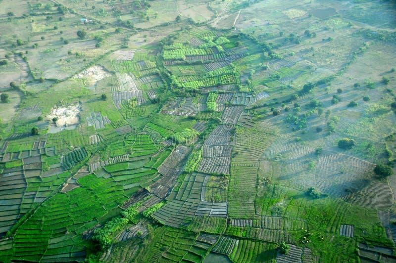 La Tanzanie aérienne images libres de droits