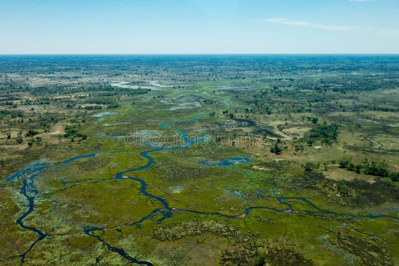 La Tanzanie aérienne photos stock