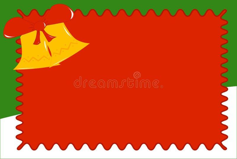 La tarjeta de Navidad ilustración del vector