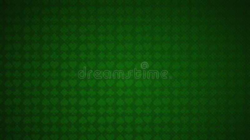 La tarjeta se adapta al fondo verde de la textura libre illustration