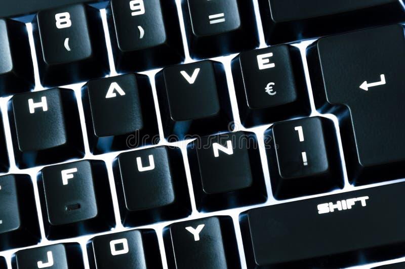 La tastiera astuta immagine stock libera da diritti