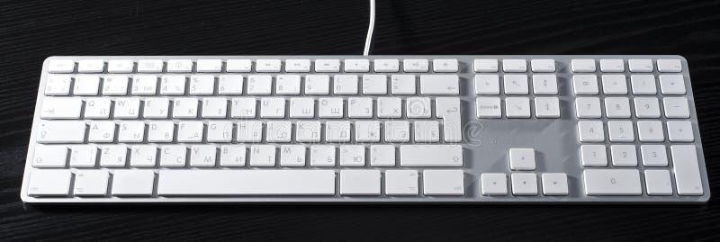 Download La tastiera di alluminio immagine stock. Immagine di entri - 7321339