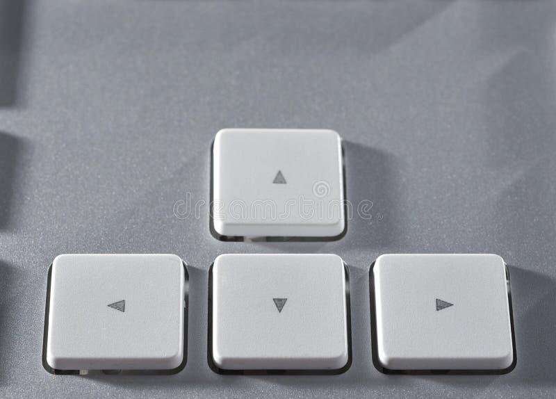 Download La tastiera di alluminio immagine stock. Immagine di studio - 7321353
