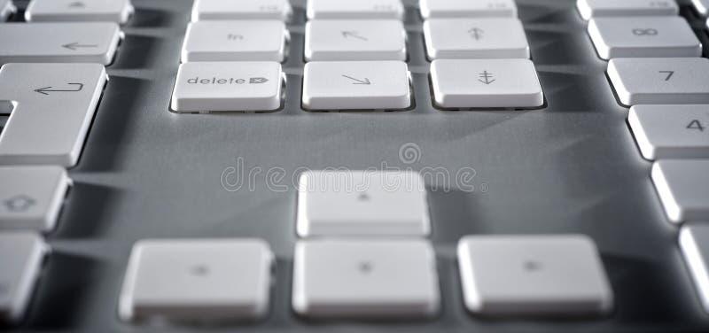 Download La tastiera di alluminio immagine stock. Immagine di marco - 7321355
