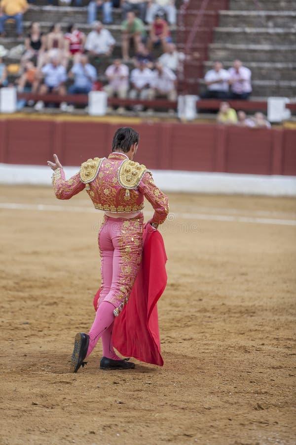 La tauromachie espagnole de David Valiente de toréador photo libre de droits