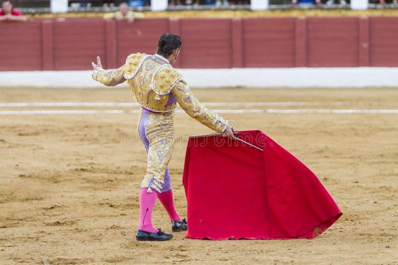 La tauromachie espagnole de David Valiente de toréador photographie stock