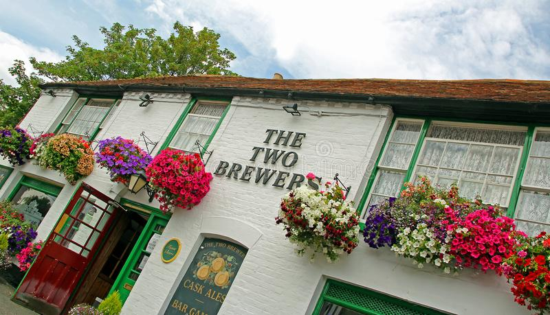 La taverne la plus ancienne dans whitstable photos stock