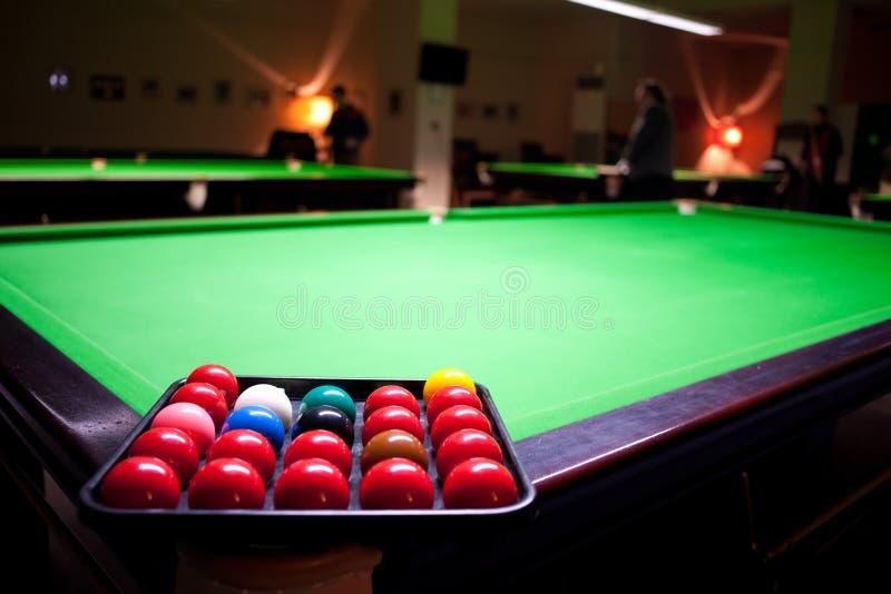 Lo snooker fotografia stock libera da diritti