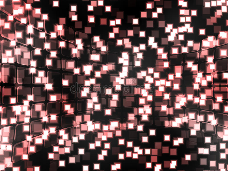 La tecnología abstracta ajustó el fondo libre illustration