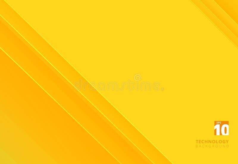 La tecnologia astratta ha barrato le linee diagonali di sovrapposizione il modello y illustrazione vettoriale