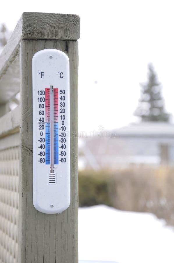 La température image libre de droits